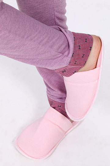 Pijama Feminino de Inverno Laços